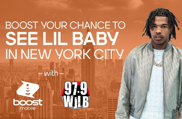 Boost Mobile Lil Baby Sweepstakes