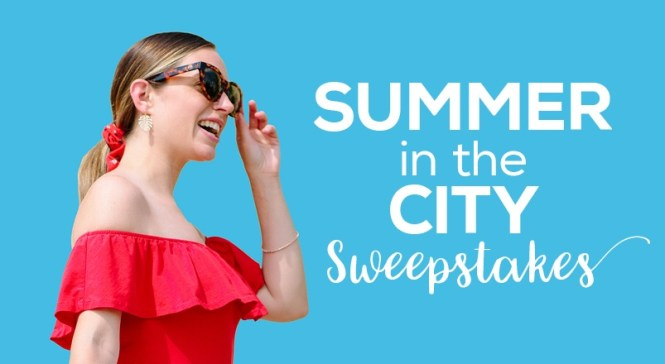 CambridgeSide Summer In The City Sweepstakes