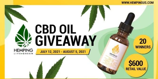Hempingus.com CBD Oil Giveaway