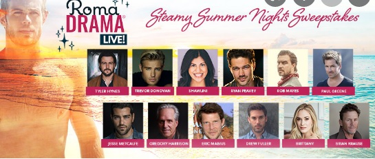 Steamy Summer Nights Sweepstakes
