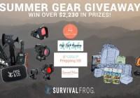 SurvivalFrog Summer Gear Giveaway