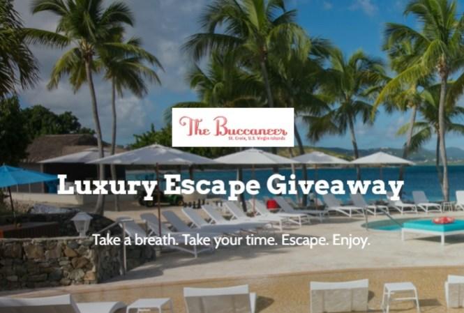 Buccaneer Luxury Escape Giveaway