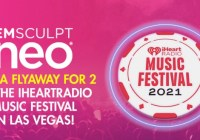 Emsculpt Neo IHeartRadio Music Festival Sweepstakes