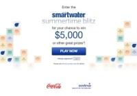 Smartwater Summertime Blitz Sweepstakes