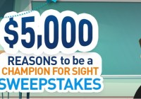 Essilor Vision Foundation Champion For Sight Giveaway