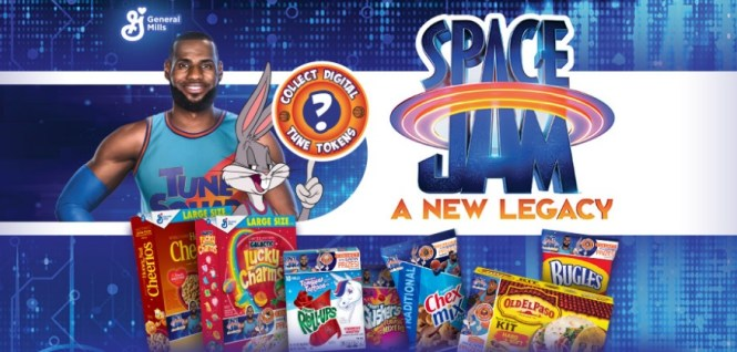 General Mills Sales Space Jam Tune Tokens Sweepstakes