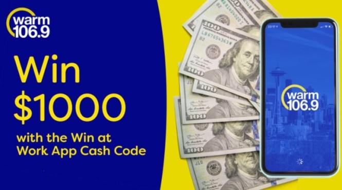 Hubbard Radio Seattle App Cash Codes Giveaway