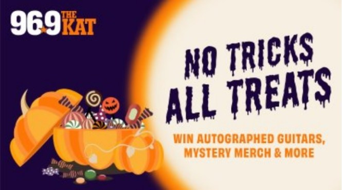 No Tricks All Treats With 96.9 The Kat Sweepstakes