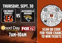 WSYX Cincinnati Bengals Ticket Giveaway