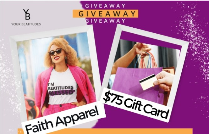 Your Beatitudes Fall Into A Be-Attitude Giveaway