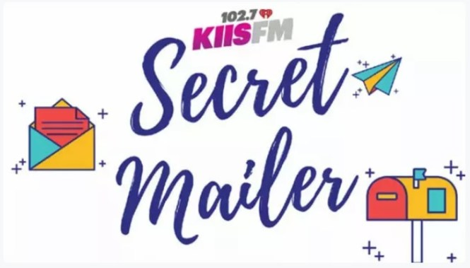 iHeartMedia KIIS-FM Secret Mailer Q3 Q4 2021 Sweepstakes