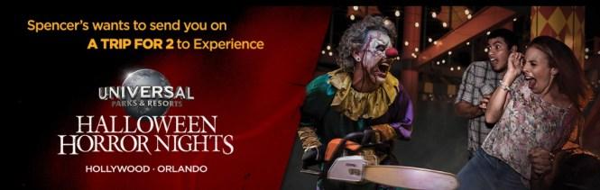 pencer Halloween Horror Nights Sweepstakes