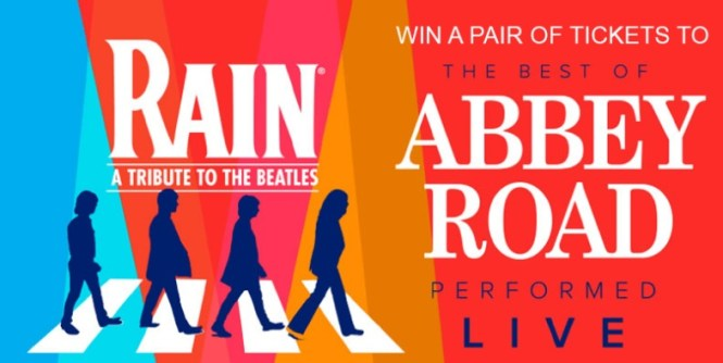 RAIN A Tribute To The Beatles Sweepstakes