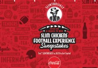 Slim Chickens Football Experience Sweepstakes