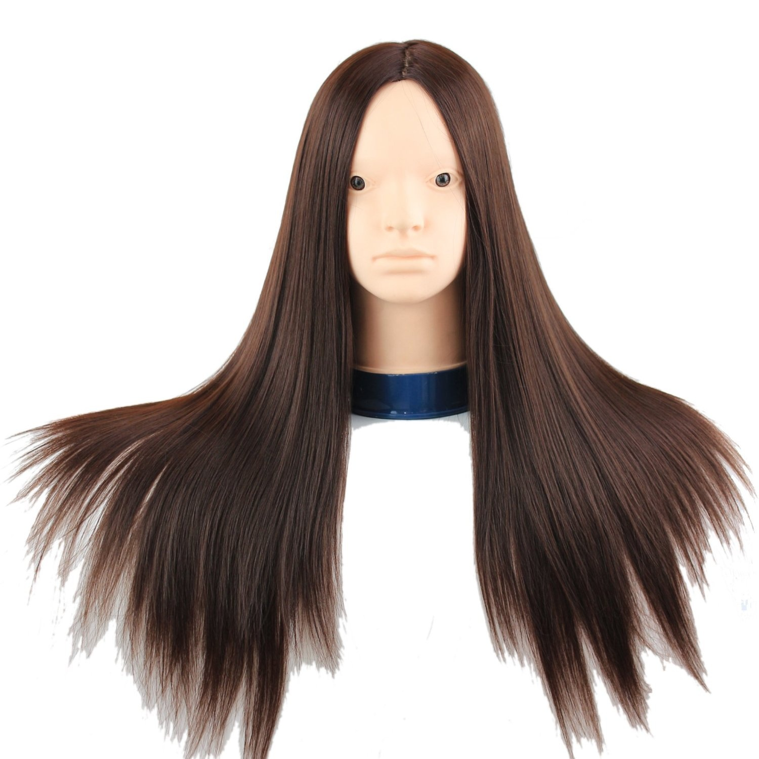 Cosmetology Practice Head With Hair For Hair Styling And