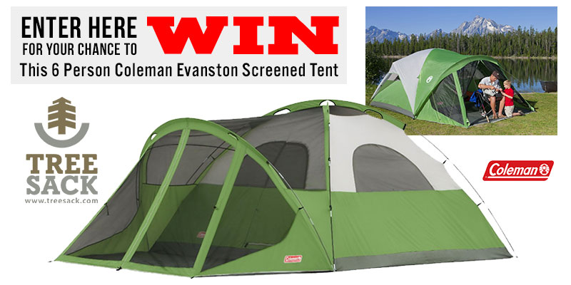 Coleman Evanston 6-Person Tent Giveaway (1/31/2017)US #giveaway #sweeps #win  sc 1 st  Time 4 Giveaways : coleman evanston 6 screened tent - afamca.org