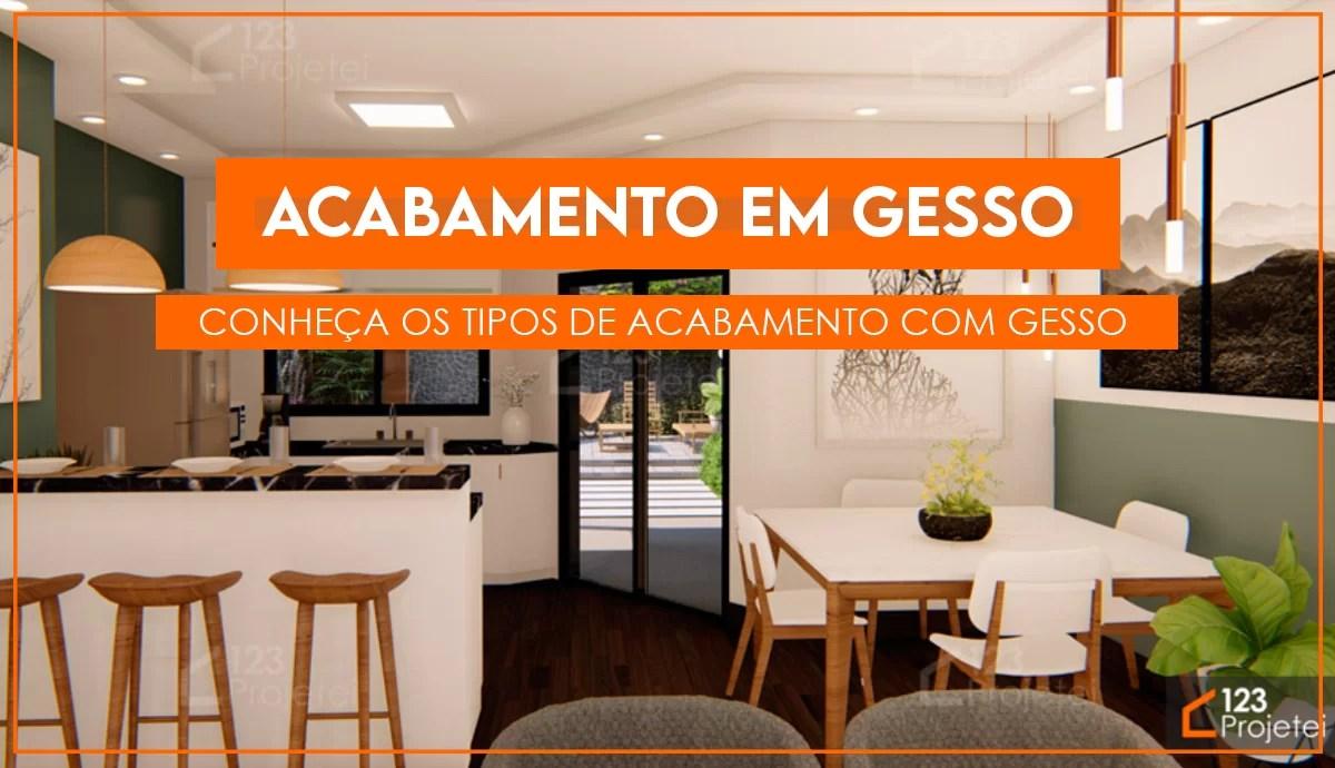 Read more about the article Acabamento em gesso: forros, sancas, molduras e revestimentos