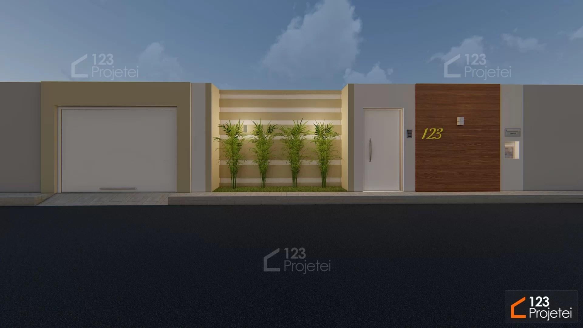 Read more about the article Projetos com muros na fachada são uma ótima opção de segurança e privacidade!