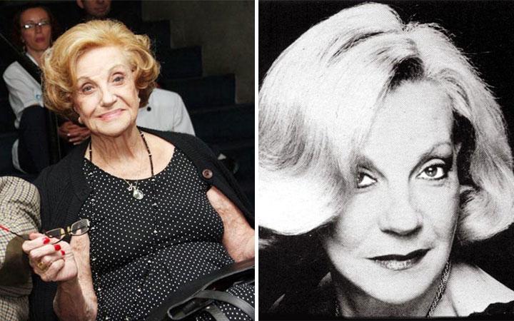 marcia real - Morre a atriz Márcia Real, veterana da televisão, aos 90 anos