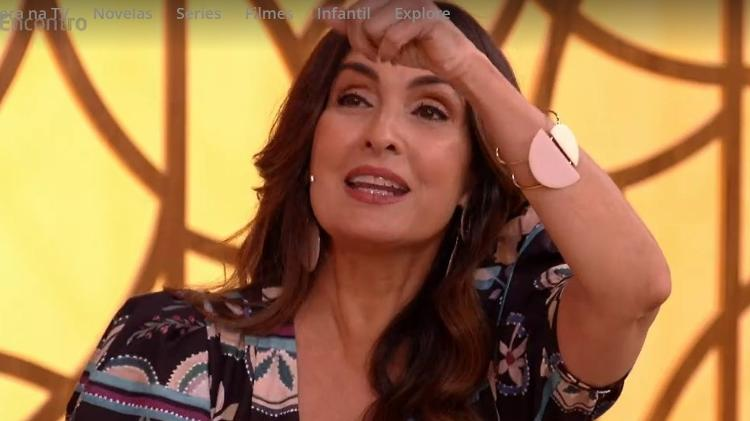 Fátima Bernardes - Reproduction/TV Globo - Reproduction/TV Globo