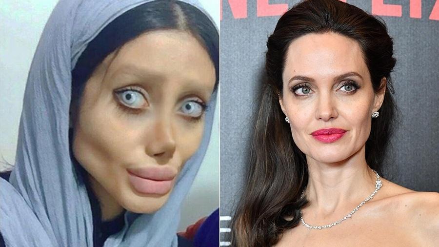 iraniana tenta ficar como angelina jolie 1511973280944 v2 900x506 - BLASFÊMIA: Iraniana que se fantasiava de Angelina Jolie é presa no Irã