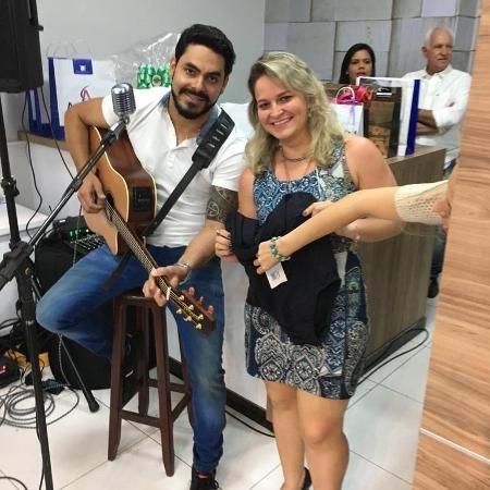 Dienny conheceu Rodolffo em um evento e se tornou fã;  ela organiza esforços conjuntos em favor da cantora no 'BBB 21' - Reprodução / Instagram - Reprodução / Instagram
