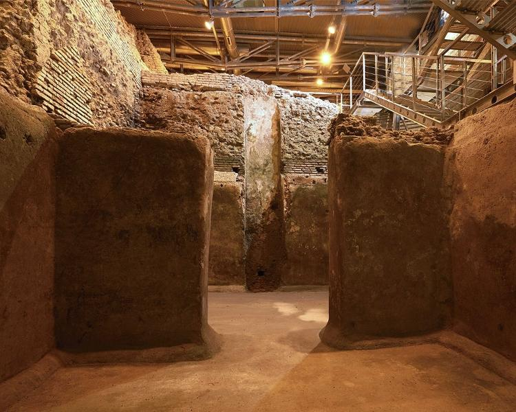 Vicus Caprarius, archaeological site under the Trevi Fountain (6) - Press Release/Vicus Caprarius - Press Release/Vicus Caprarius