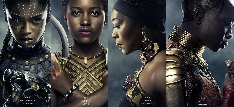 Resultado de imagem para pantera negra mulheres