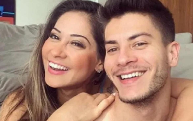 Arthur Aguiar posta textão no aniversário de Mayra Cardi e admite erros:  'Te amo'