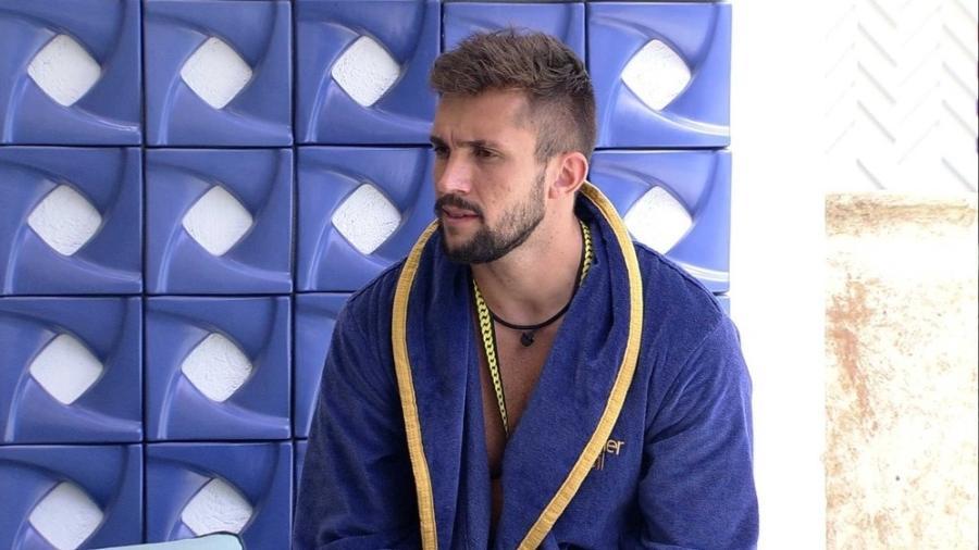 BBB 21: Arthur revela que se tiver a possibilidade, vetará Juliette - Reprodução/Globoplay