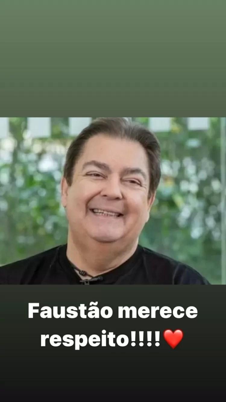 Rodrigo Faro pede respeito a Faustão - Reprodução/Instagram - Reprodução/Instagram