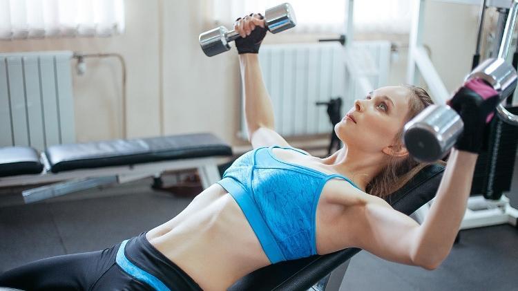 crucifix, bodybuilding, exercise gym - iStock - iStock