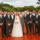 Marina Ruy Barbosa with her groomsmen - Reproduction / Instagram / Cissa Sannomiya
