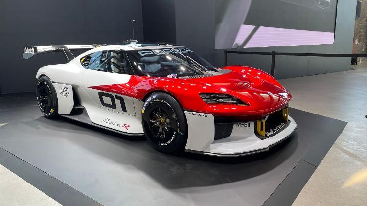 Porsche Mission R Hall of Munich IAAA - Ricardo Ribeiro/UOL - Ricardo Ribeiro/UOL