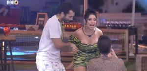 Juliette não aceita pedido de bicada tripla com Gil e Fiuk