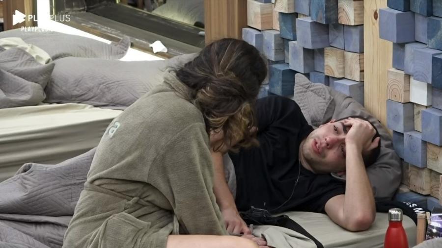"""Lucas Maciel fala em desistir de """"A Fazenda 2020"""" - Reprodução/RecordTV"""