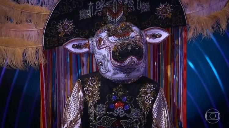 The Masked Singer: Boi-bumbá is eliminated from the music reality - Reproduction/TV Globo - Reproduction/TV Globo