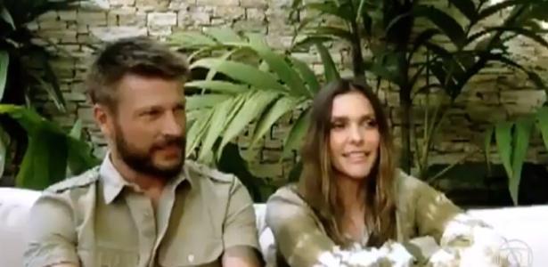 Fernanda Lima conta que Rodrigo Hilbert constituiu capela para o casamento