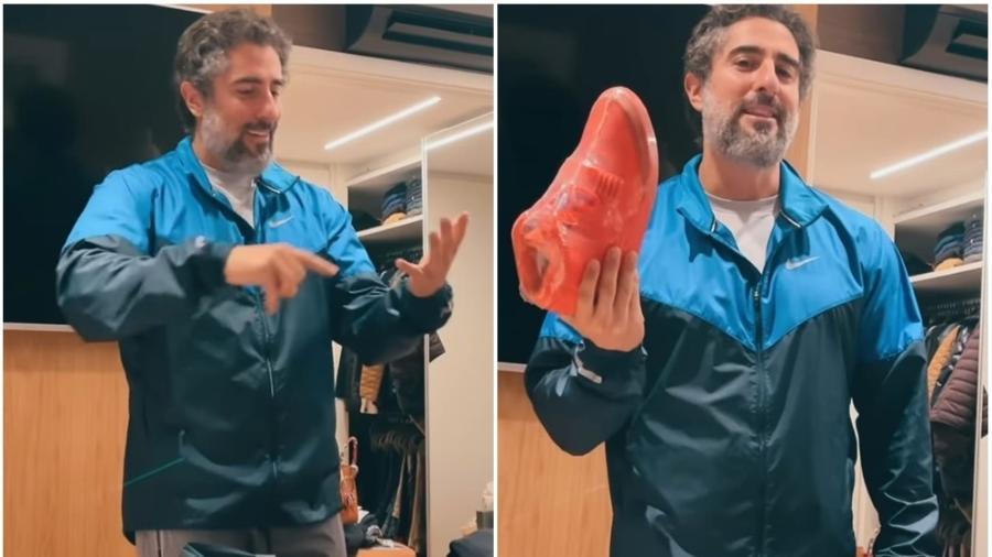 Marcos Mion mostra tênis que usará quando pisar na Globo como funcionário pela primeira vez; peça é milionária - Reprodução/Instagram