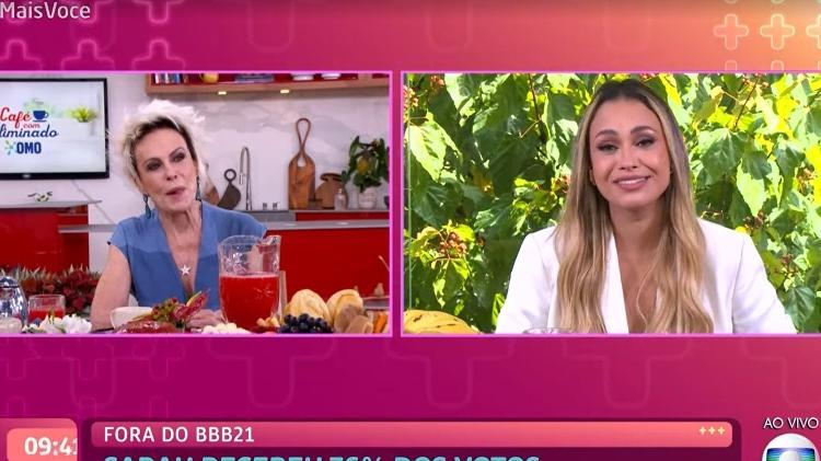 Sarah - Reprodução/TV Globo - Reprodução/TV Globo