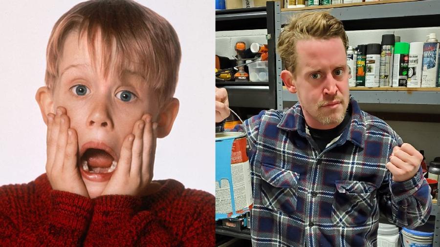 """Macaulay Culkin tinha dez anos quando fez o longa """"Esqueceram de Mim"""" - Reprodução/Instagram"""