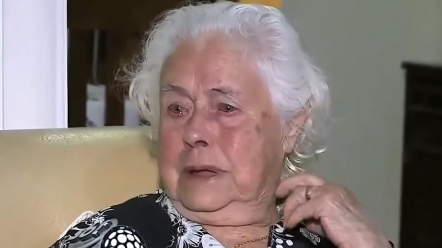 Dona Anita acredita que Daniel passou mal e morreu durante um treino - Reprodução/SBT