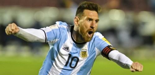 Messi deu show e foi decisivo na classificação da Argentina