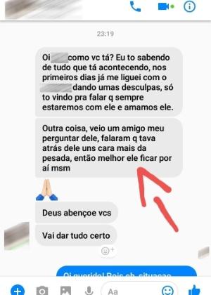 print de conversa no facebook com relatos de ameacas a a testemunha do caso daniel 1542661380245 300x420 - CASO DANIEL: áudios mostram relatos de ameaça de morte a testemunha-chave - OUÇA
