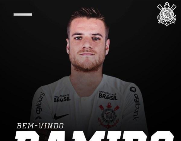 7cd5969383 Corinthians anuncia contratação de Ramiro