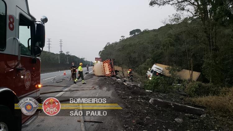 Destroyed Trucks - Fire Department of São Paulo - Fire Department of São Paulo
