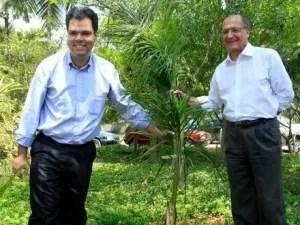 Bruno Covas e Geraldo Alckmin - Reprodução/Facebook - Reprodução/Facebook