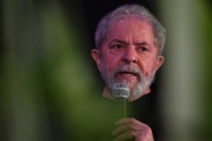 Lula no congresso do PCdoB, em novembro