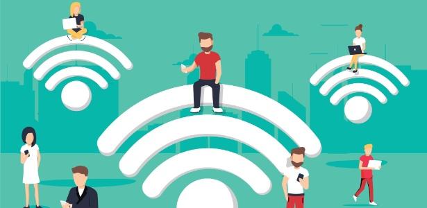 pessoas usando dispositivos conectados a rede de wi fi 1539722363617 615x300 - Inocente? 7 coisas que você faz na internet e podem levá-lo à Justiça