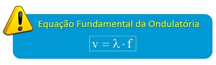 Equação fundamental da Ondulatória - Dulcidio Braz Jr /  Física na veia - Dulcidio Braz Jr /  Física na veia